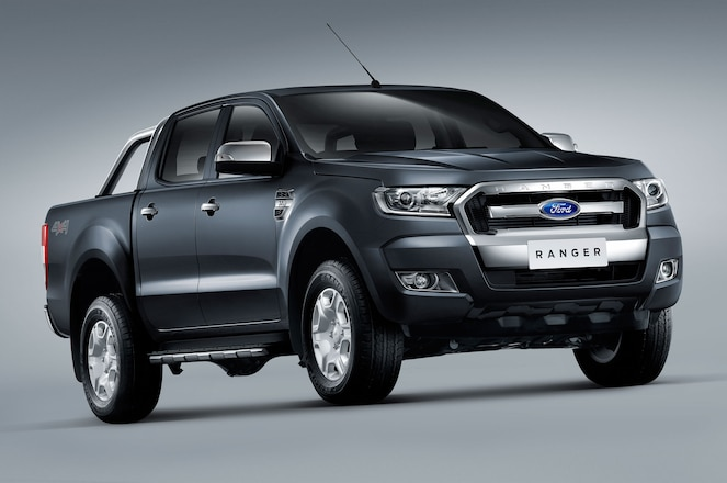 Aussie-Spec 2016 Ford Ranger at SEMA for Measuring Session