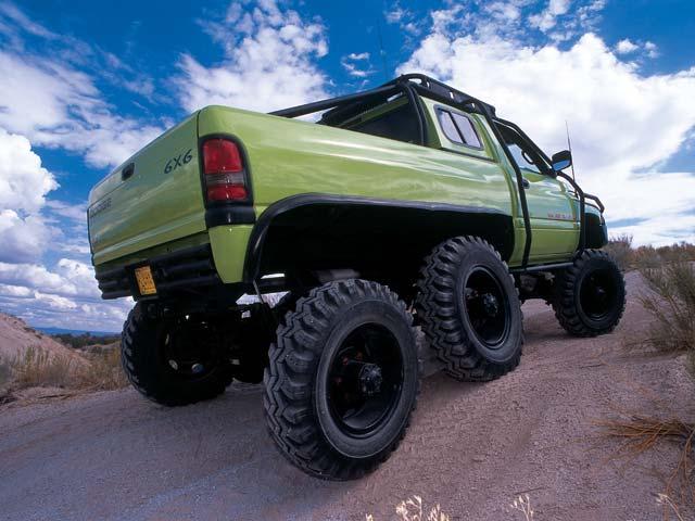 1995 Dodge Ram 2500 6500 6x6 Concept Truck T Rex Lives