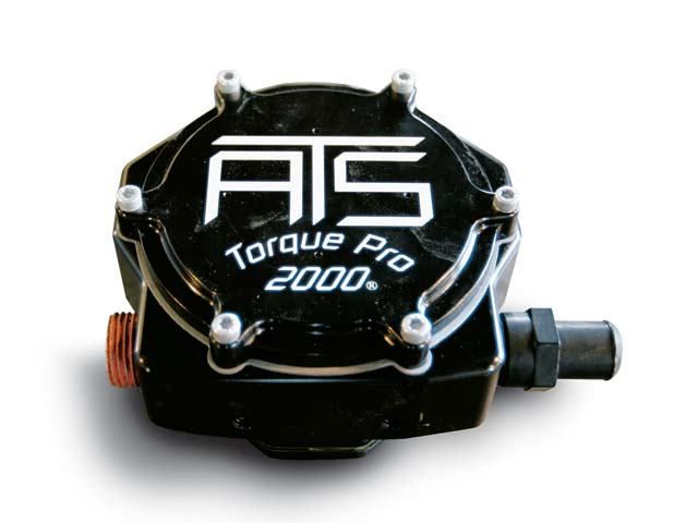 At the heart of the ATS system is the Torque Pro 2000. It controls the flow of propane and feeds it to the manifold.