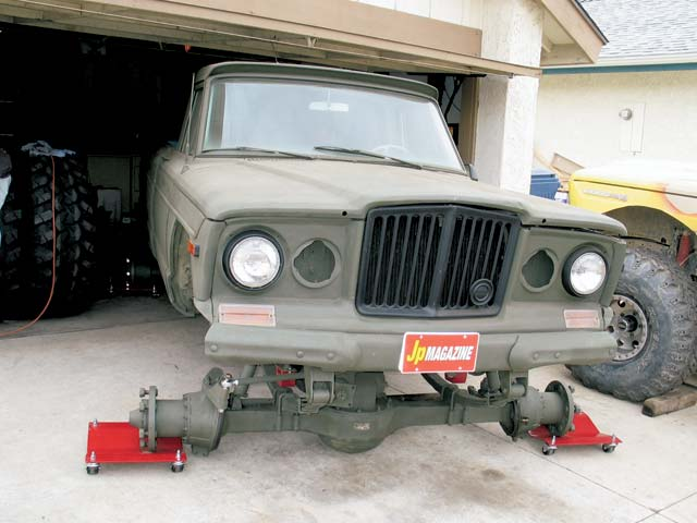 0404 15z+1973 Jeep FSJ Truck+Front End
