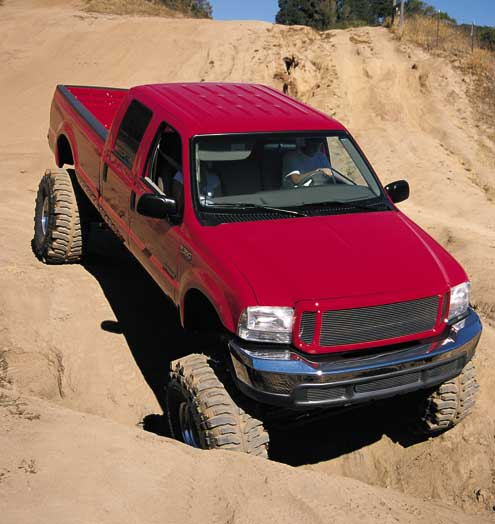 510large+ford f350+front left view