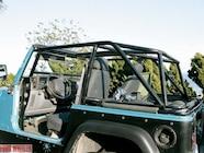 129 0408 07z+jeep tj+rollcage left rear view