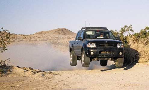 Nissan Frontier Crew Cab SC.