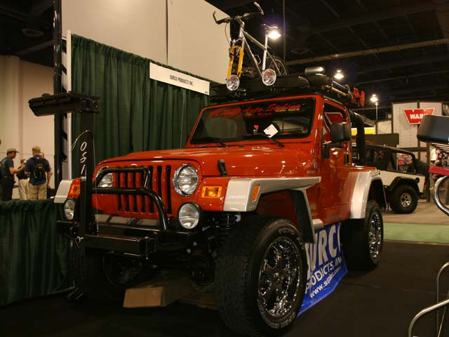 129 102z+Jeep Wrangler+Front Driver Side View