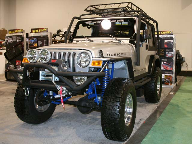 129 103z+Jeep Wrangler+Front Driver Side View