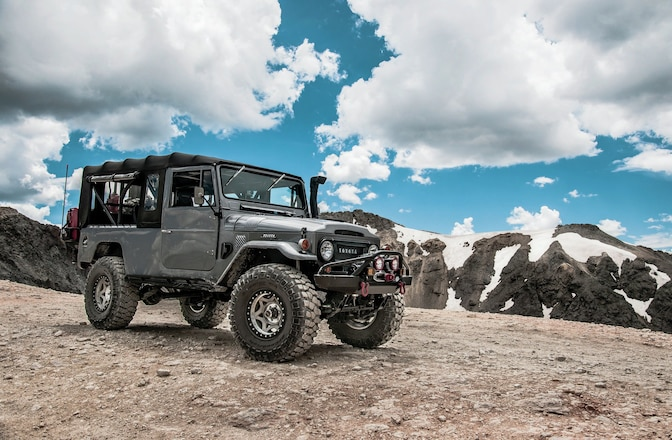 1966 Toyota FJ45 Land Cruiser Troopy - One Trick Troopy