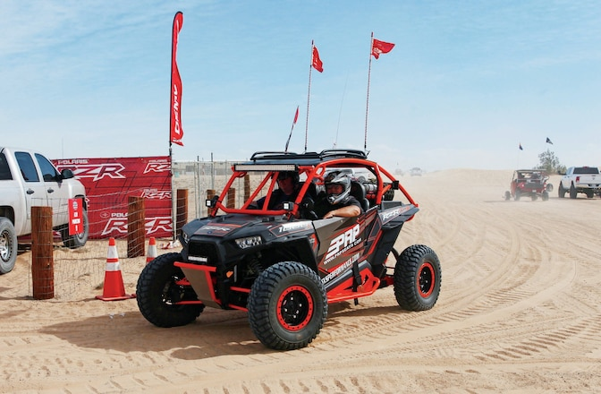 Camp RZR Blows Into Glamis - Cutting Edge