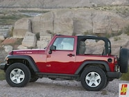 154 0601 04z+2007 jeep jk wrangler+side view