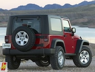 154 0601 02z+2007 jeep jk wrangler+rear right view