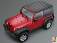 154 0601 10z+2007 jeep jk wrangler+top front side view