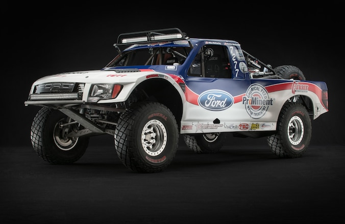 Resto Ford Raptor: A New Racer With 80's Style - Masterpiece In Metal