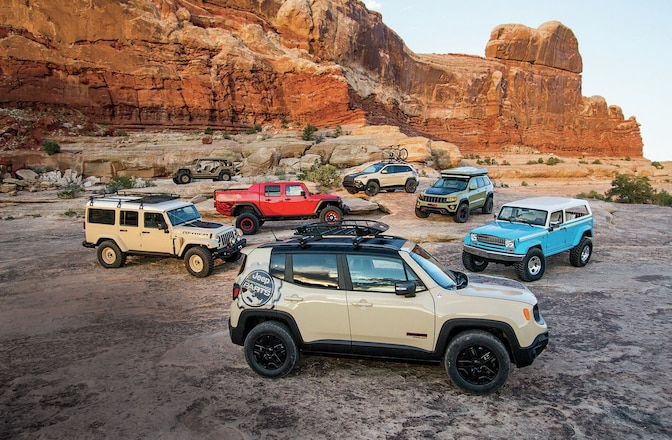Colossal Jeep Concepts From Moab