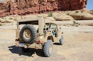 jeep staff car rear side view