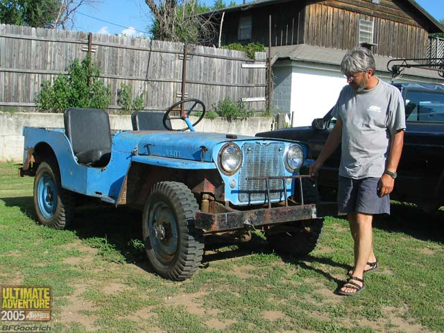 131 0602 05ua 148 z +jeep willys flatfender+