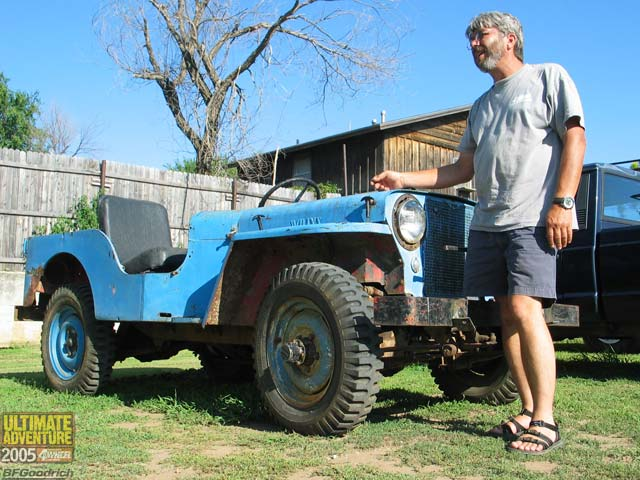 131 0602 05ua 150 z +jeep willys flatfender+