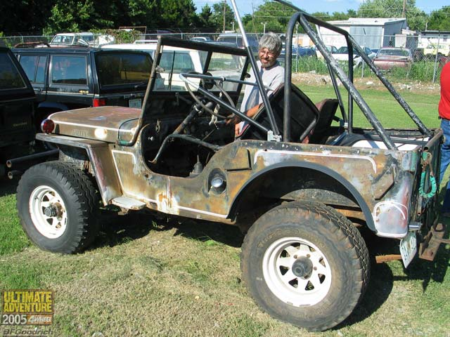 131 0602 05ua 146 z +jeep willys flatfender+