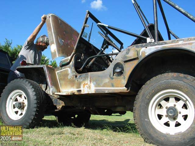 131 0602 05ua 147 z +jeep willys flatfender+
