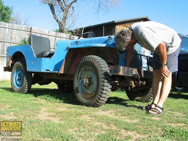 131 0602 05ua 149 z +jeep willys flatfender+
