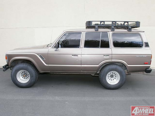 131 0604 ome 01 z +1985 toyota land cruiser+ before ome lift install