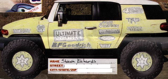 131 0610 z+2006 ua fj paint+Richards Shawn