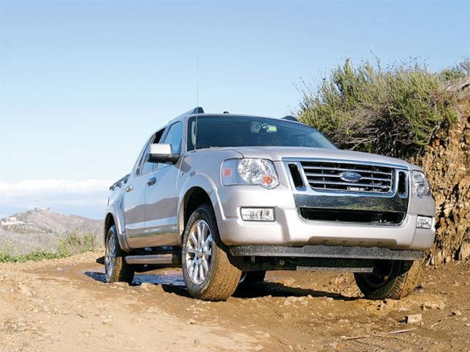 2007 Ford Explorer Sport Trac - Review and First Test Drive