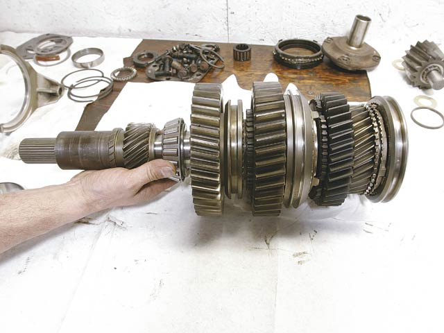 Rebuilding an NV4500 Manual Transmission - Four Wheeler Magazine