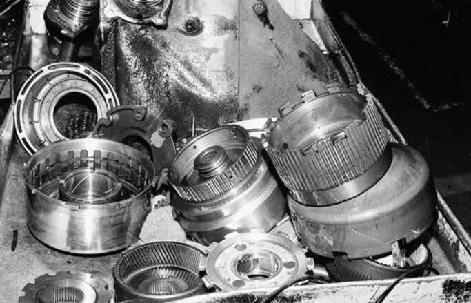 ford c6 transmission pump rebuild