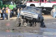 trucks gone wild south berlin mud ranch chevrolet truck driving though mud