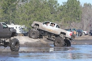 trucks gone wild south berlin mud ranch pickup truck driving through mud