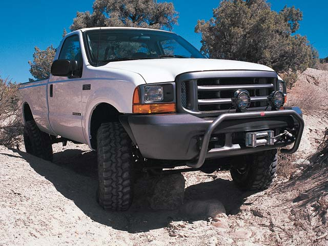 129 0103 01z+2000 ford f350 super duty+right front view