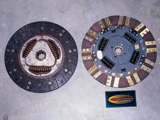 129 0302 02z+2000 ford f350 super duty+clutch disk comparison