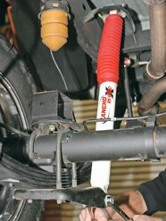 131 0607 11 z+hummer h3+rear suspension