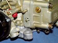 Timed-Spark Advance Vacuum Port<br />Fuel Level Sight Window