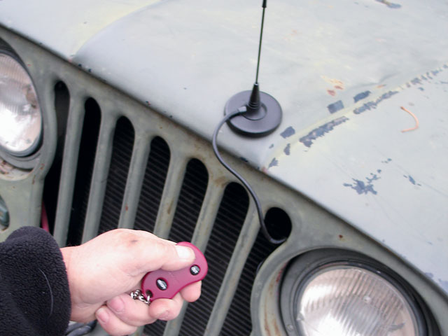 One hot item from Ramsey is this remote wireless control for your winch. It can even be adapted to other brands, and makes it possible to be up to 50 feet away from the winch and still 'power' in and out. If you've ever had to pull cable by yourself to get unstuck, you know how handy this can be.
