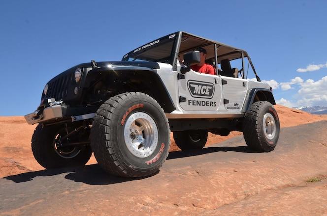 MCE Builds Lightweight JK For All-Purpose Wheeling