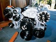 129 0302 03z+1971 chevrolet suburban+ht 383 engine