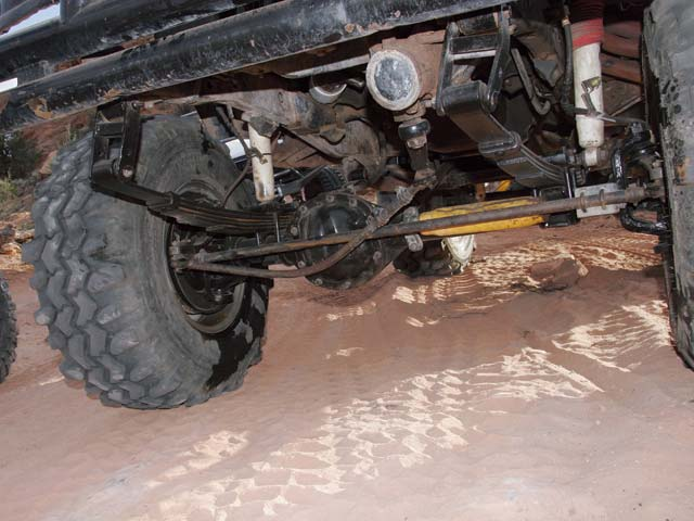 131 0708 03 z 2007 moab broken 4x4 vehicles steering linkage - photo 9041495