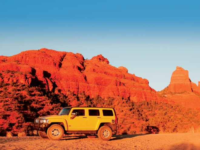 2006 Hummer H3 Arizona Trails & Tents Tour - In Search Of Obscurity