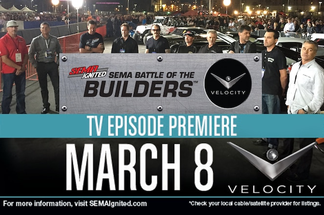 First-Ever SEMA Battle of the Builders TV Show Premieres Sunday Night