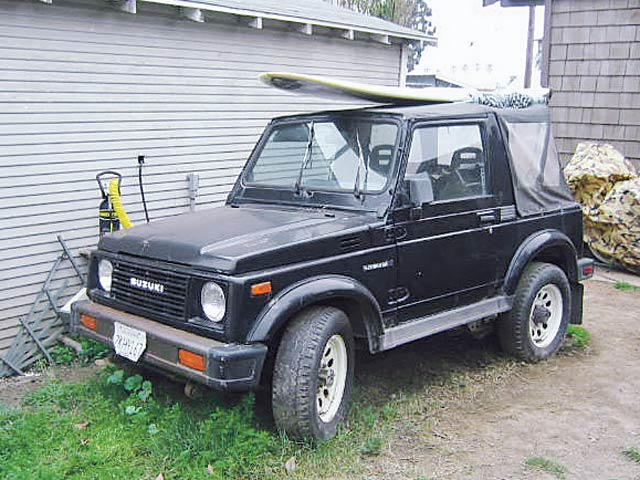 0704 4wd 01 z+1988 suzuki samurai buildup+before