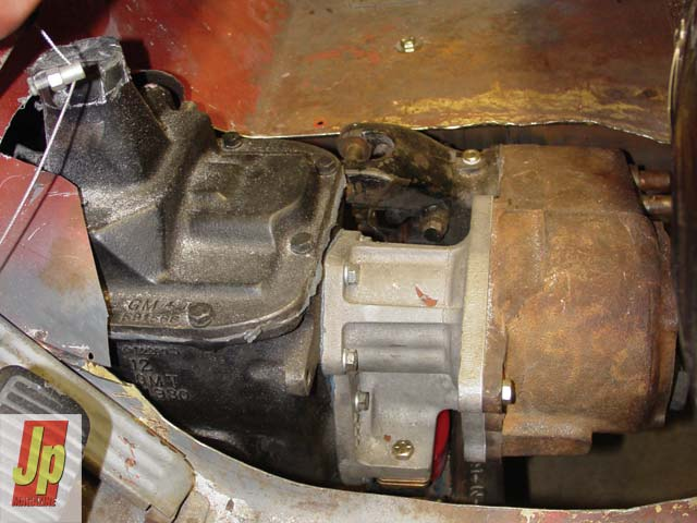 0505 05z+1953 Jeep CJ3A+Transmission