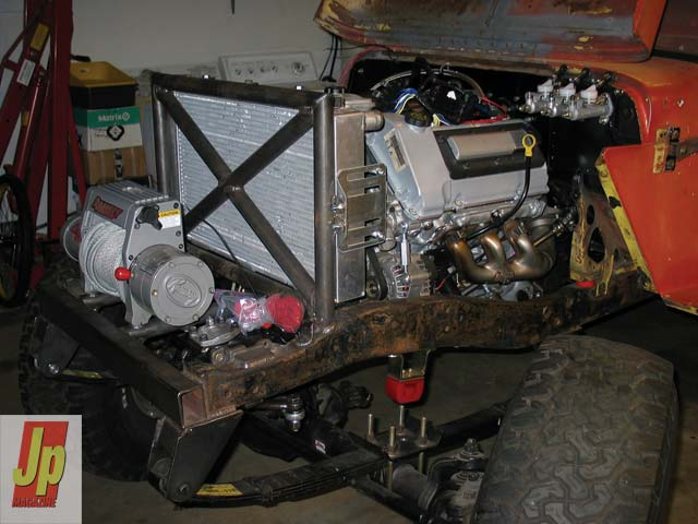 0505 06z+1953 Jeep CJ3A+Engine