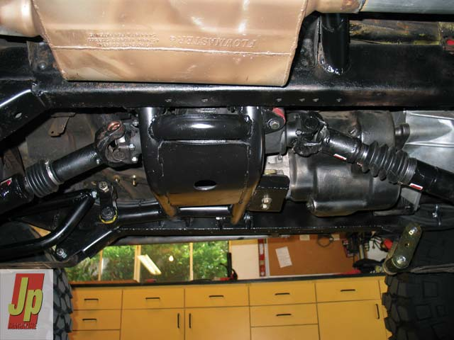 0505 08z+1953 Jeep CJ3A+Crossmember