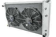 champion radiator with fans