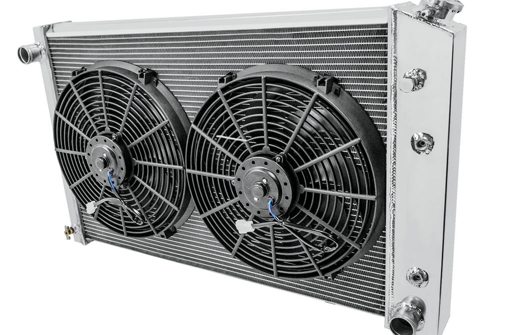 Champion also offer a fan/shroud configuration for enhanced looks and extra cooling power. All Champion radiators are backed by a limited lifetime warranty.