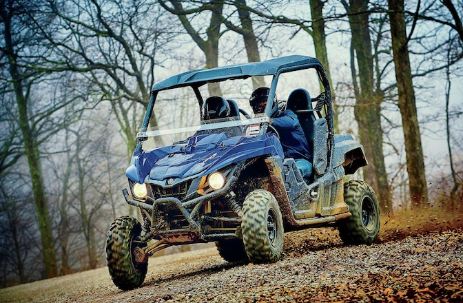 The Yamaha Wolverine R-Spec UTV