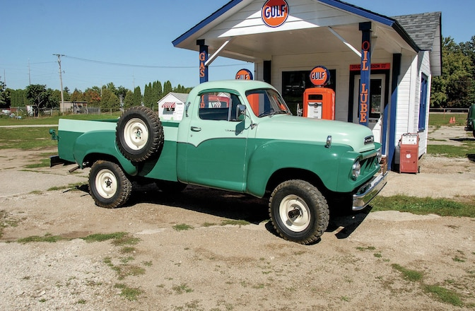 1958 Studebaker Transtar 3E6D 4x4 - Backward Glances