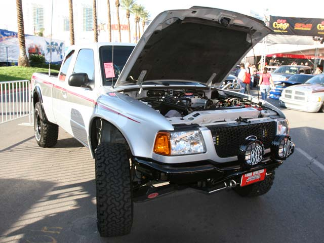 129 05sema 36z+ford ranger+front left view