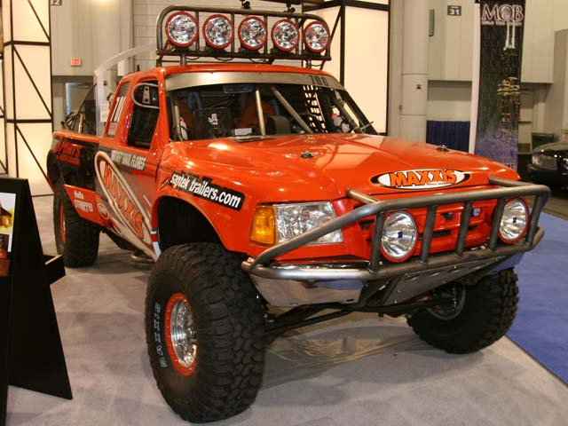 129 05sema 188z+ford ranger+front left view