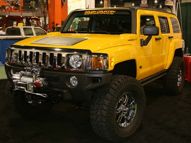 129 05sema 30z+hummer h3+front right view